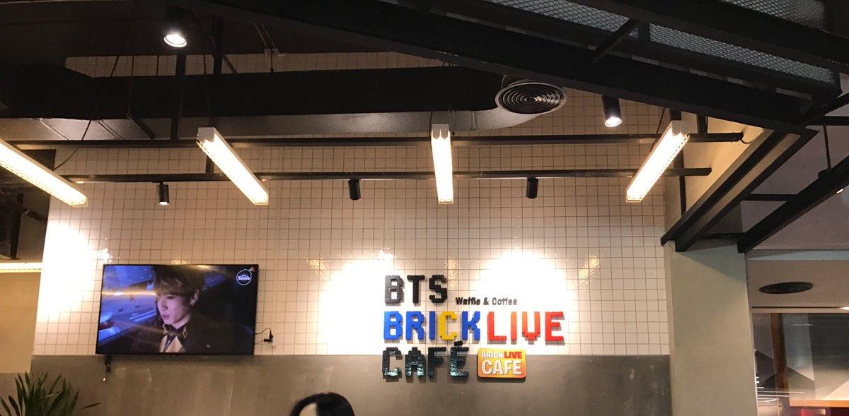 ☺️👍 #JIMIN #BTS_Brick_Live_Cafe