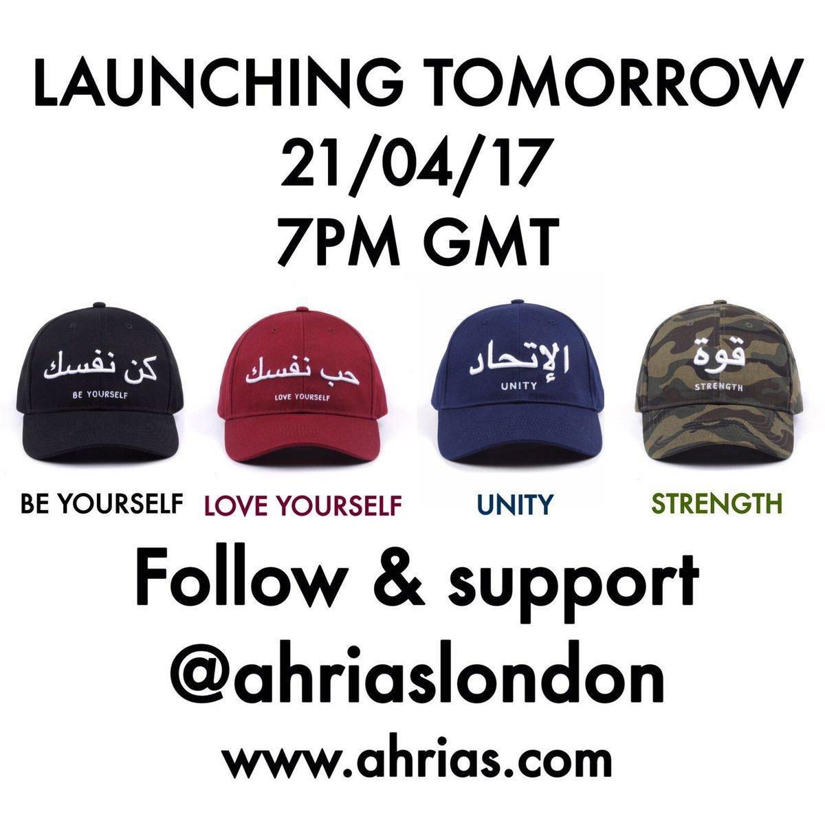LAUNCH TODAY 21.04.2017 (7PM GMT) Which is your favourite? #JummahMubarak #jummah #CeltaVigo #UnleashDefeat #london #fashion #blog #ahrias<br>http://pic.twitter.com/a1Yju5QJy9
