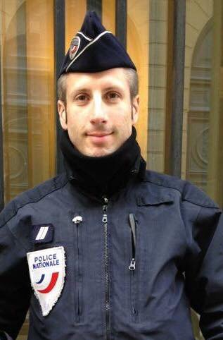The policeman killed last night by an asshole who should have been in jail. Wake up, France! #attentatchampselysees <br>http://pic.twitter.com/kK0klhClOH