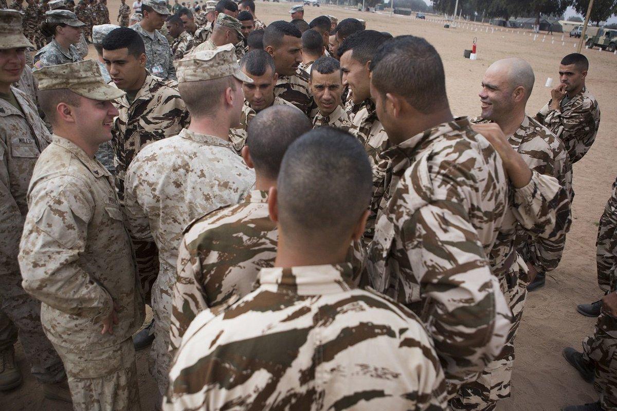 """انطلاق مناورات """"الأسد الإفريقي 17 """" في المغرب بمشاركة أمريكية C979Kp4XUAA_i0G"""