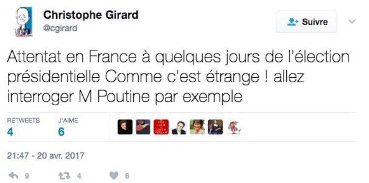 Un grand malade élu Parisien vous donne son avis sur #champselysees #Mairie #Parispic.twitter.com/iHYKNP8c1i