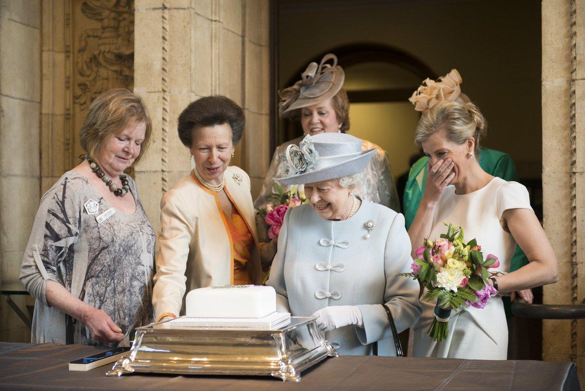 Happy Birthday to our Patron, Queen Elizabeth II! #HappyBirthdayHerMajesty #Queenat91