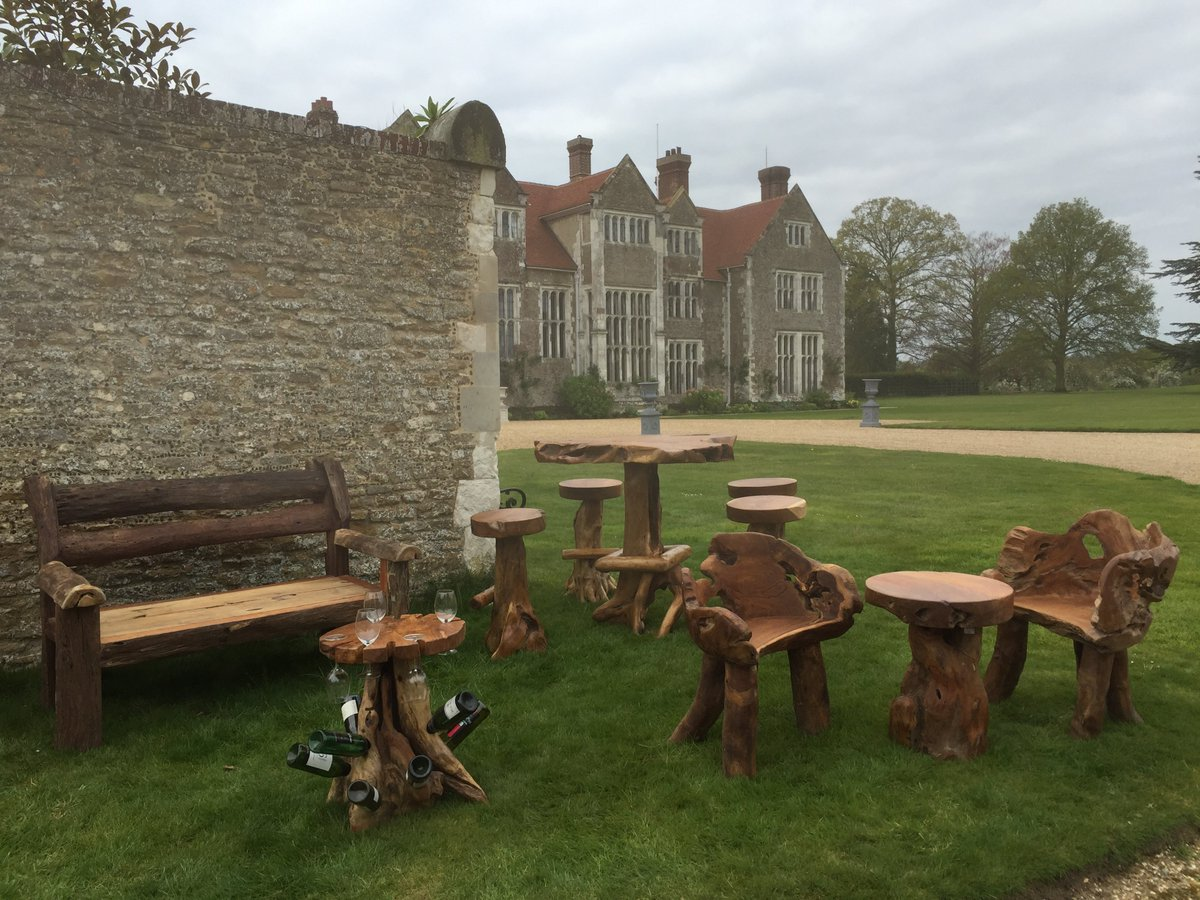 RT @Wonders0fWood Just part of our unique collection you will see today @LoseleyPark @GuildfordTIC #Guildford #godalming #Surrey #GardenersWorld #furniture