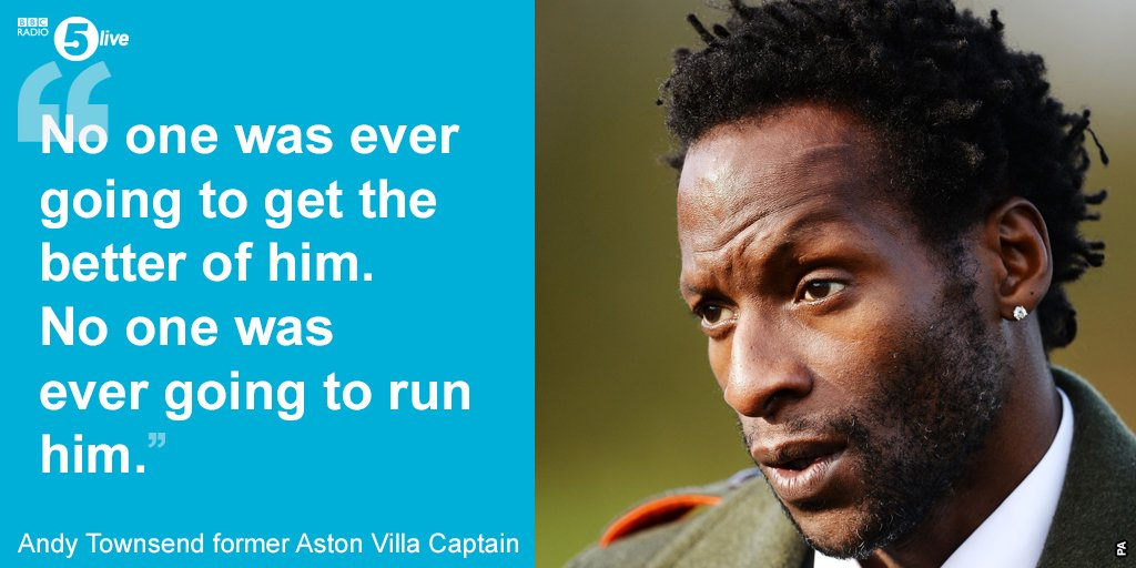 Andy Townsend's tribute to #UgoEhiogu 'He became the defender everyone...
