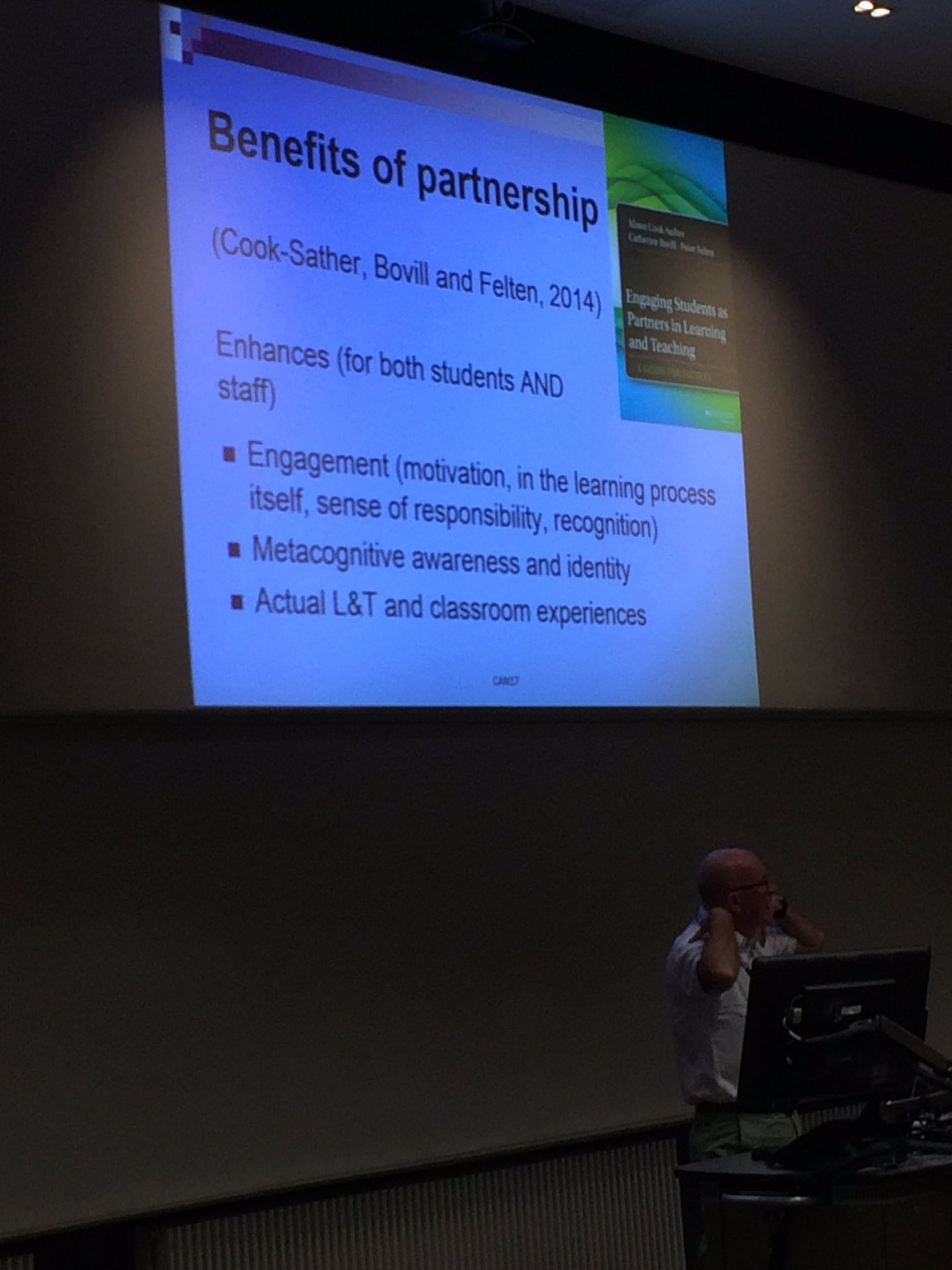 Colin Bryson sharing the benefits of partnership #JiscCAN17 https://t.co/RJmilTT6oY