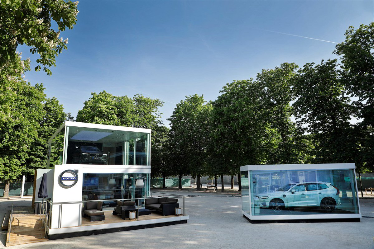 Le #NouveauXC60 au cœur d'une exposition parisienne éphémère, dans le jardin des Tuileries.  http://www. volvoca.rs/01MkSb    pic.twitter.com/56B8ub2Nxn