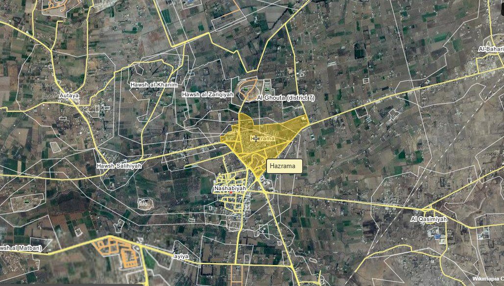 East Ghouta: Jaish Al-Islam stopped pro-Government forces as they tryied to advance on Hazrama front.
