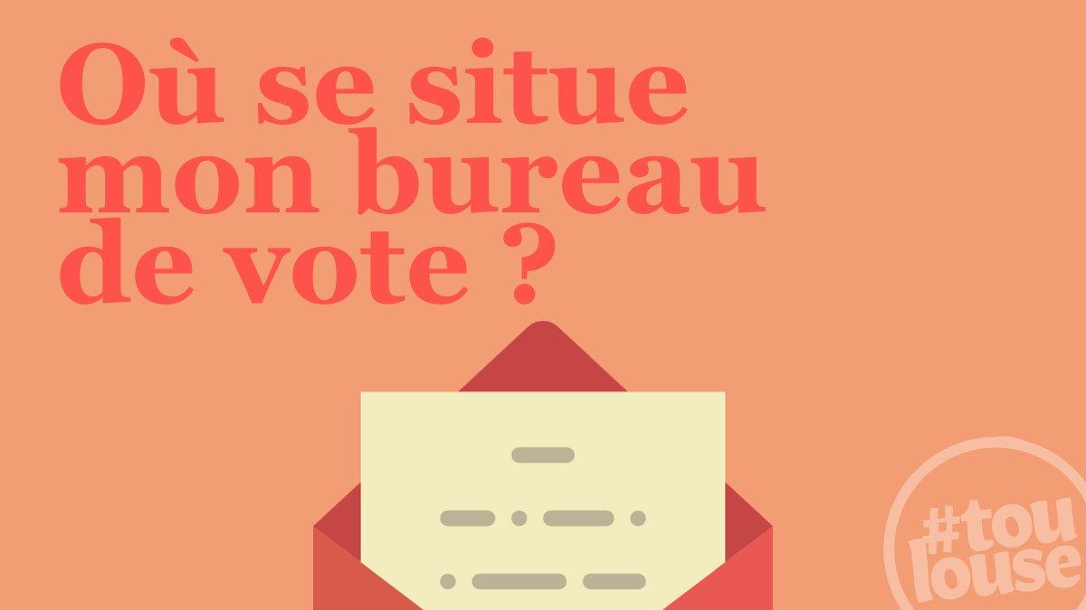 Toulouse on Twitter Vous ne savez pas o voter Effectuez une