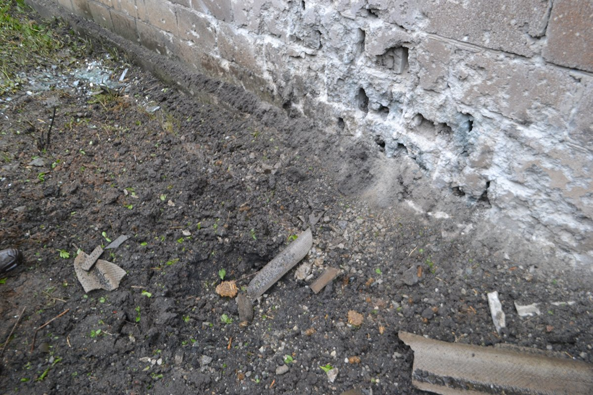 ATO spox: Yesterday, two private houses in Avdiivka were damaged in enemy mortar fire. No injuries among civilians