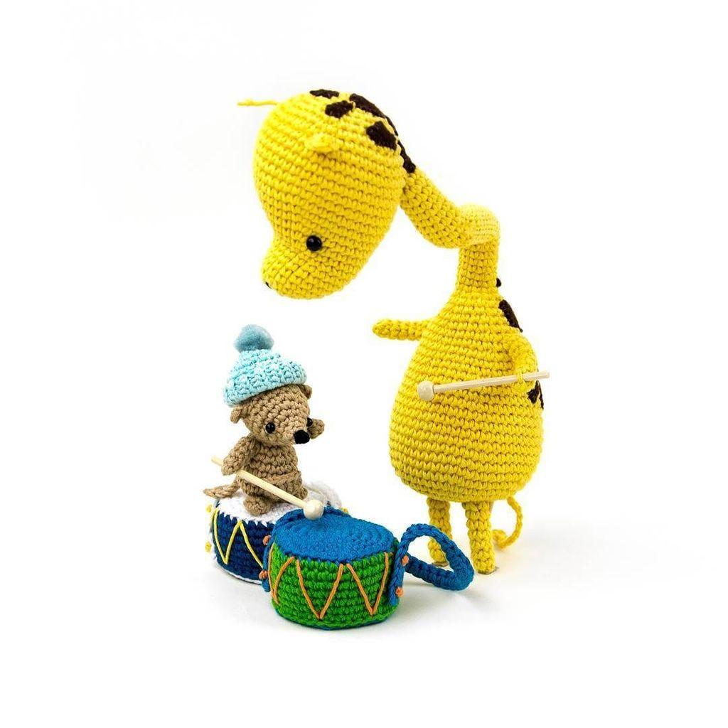 Adorable Crochet Hearty Giraffe Amigurumi Free Pattern (With ... | 1024x1024