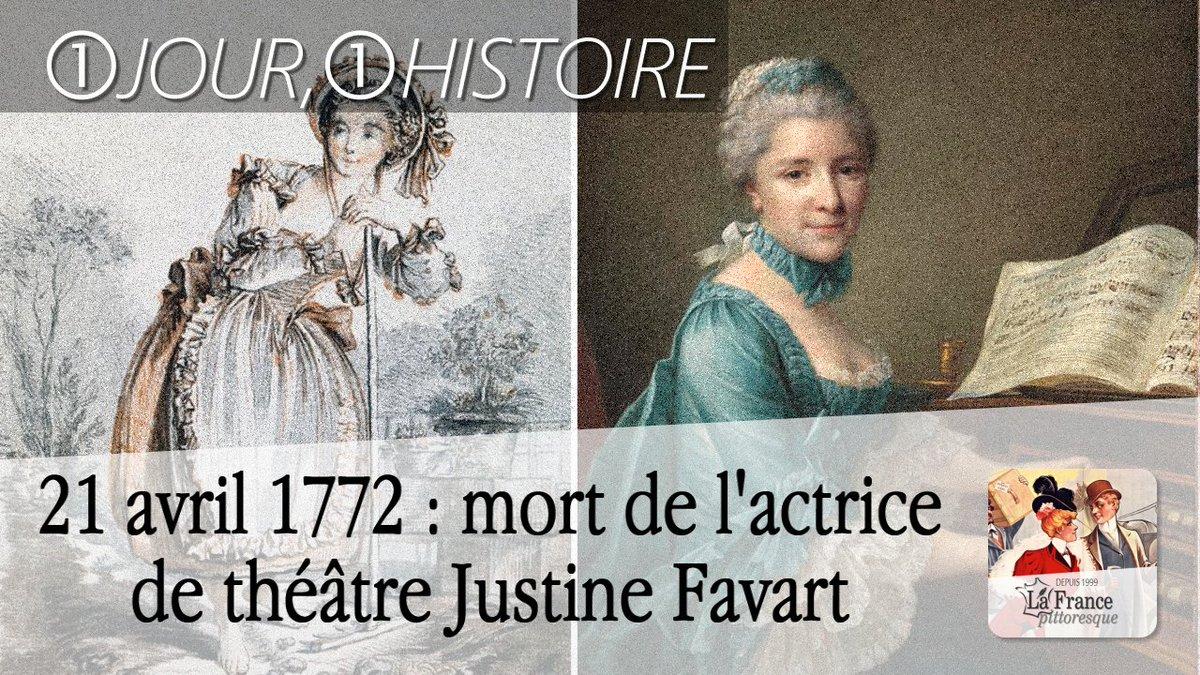 #21Avril 1772 : mort de l'#actrice de #théâtre Justine #Favart ►  http:// bit.ly/Justine-Favart     #Comédienne #Scène #Paris #Opéra #Comiquepic.twitter.com/MFi1brkiWD