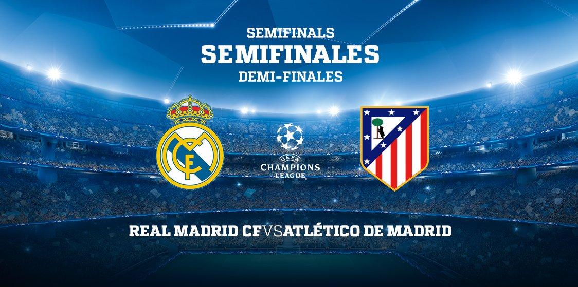 ¡Ya tenemos rival para semifinales de la @LigadeCampeones! 🌟⚽️ 👉 @real...