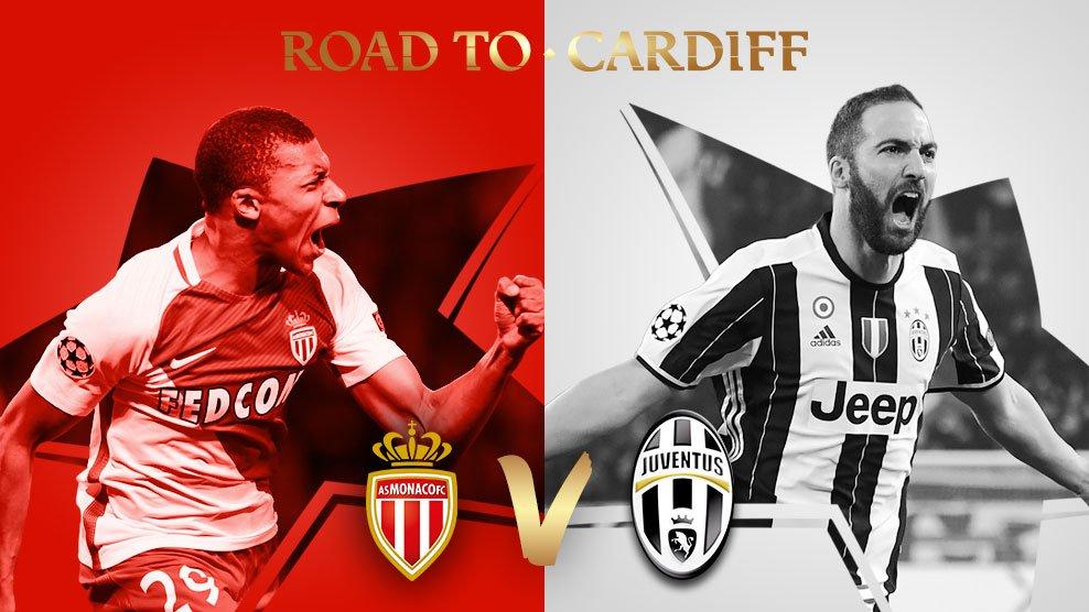 🇫🇷 Monaco v Juventus 🇮🇹 #UCLdraw