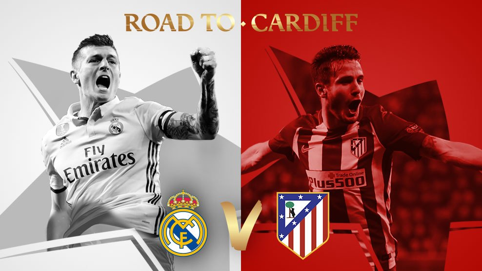 🇪🇸 Real Madrid v Atlético 🇪🇸 #UCLdraw