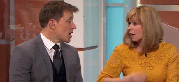 Kate Garraway's dress BURSTS open live on Good Morning Britain https:/...