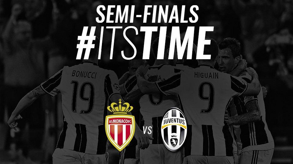 JUVENTUS vs @as_Monaco #ItsTime #UCLDraw https://t.co/rxtwQhOpGS