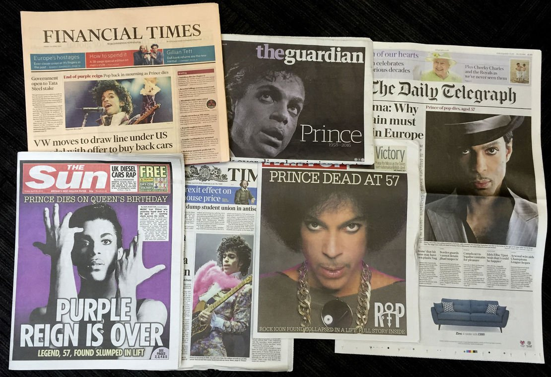 Today In History, April 21: Prince https://t.co/Y9LYeTvM7H