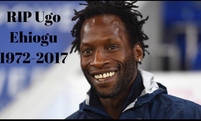 Life can be so cruel - Deepest sympathy to all his family & friends. RIP Ugo Ehiogu