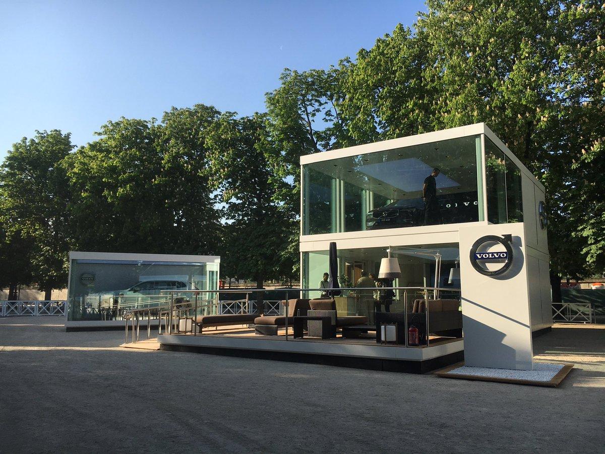Le #NouveauXC60 s'expose aux #Tuileries ! Rendez-vous les week-end du 22 et 29 avril pour le découvrir. #VolvoXC60pic.twitter.com/mOOdS9Gz5t