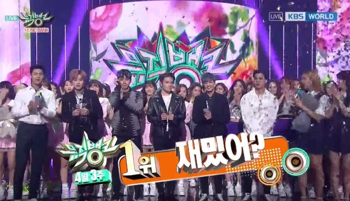 """WATCH: #TeenTop Takes #LoveIs1stWin On """"Music Bank' https://t.co/sdkck..."""