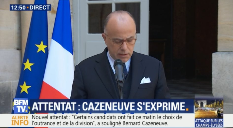 DIRECT. Le FN 'a voté contre toutes les lois anti-terroristes' affirme @BCazeneuve  📺https://t.co/LIEhlp6yN7