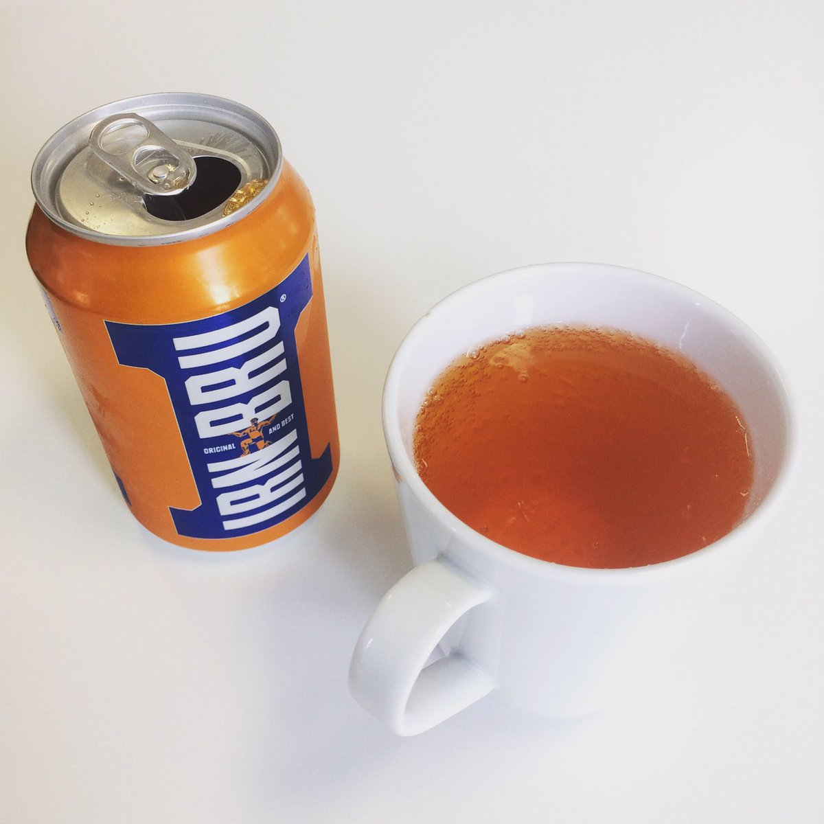 It's #nationalteaday Make yourself a BRU.
