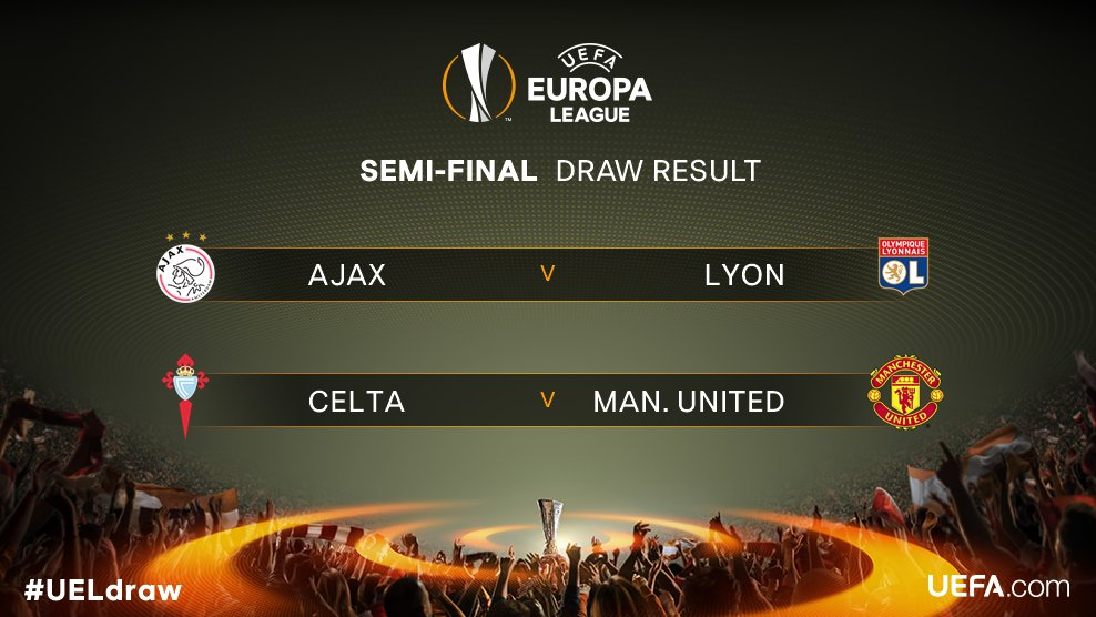 ⚽️The official result of the #UELdraw! ⚽️  Reaction ➡️ https://t.co/1F...
