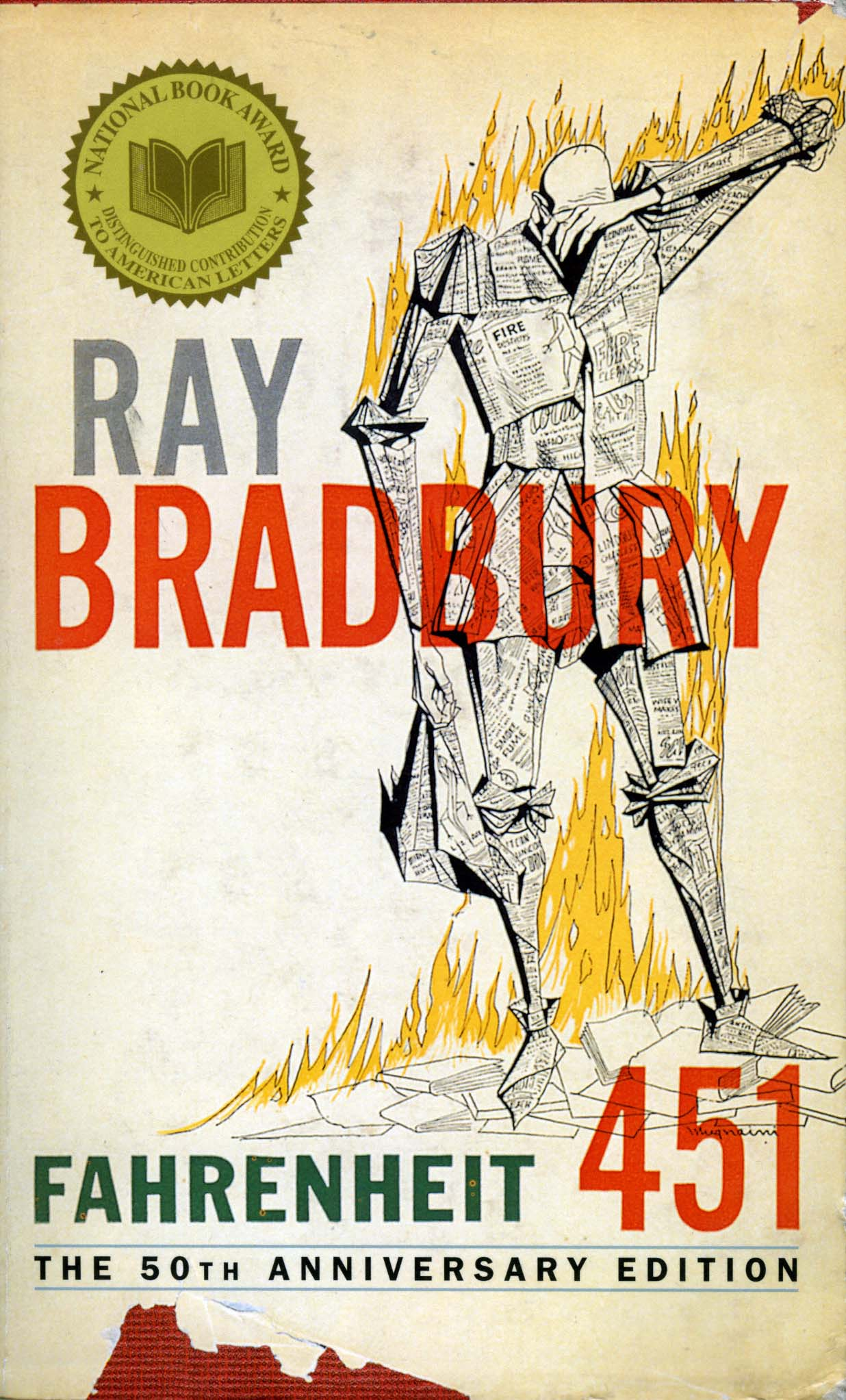 books and thinking outlawed in fahrenheit 451 by ray bradbury