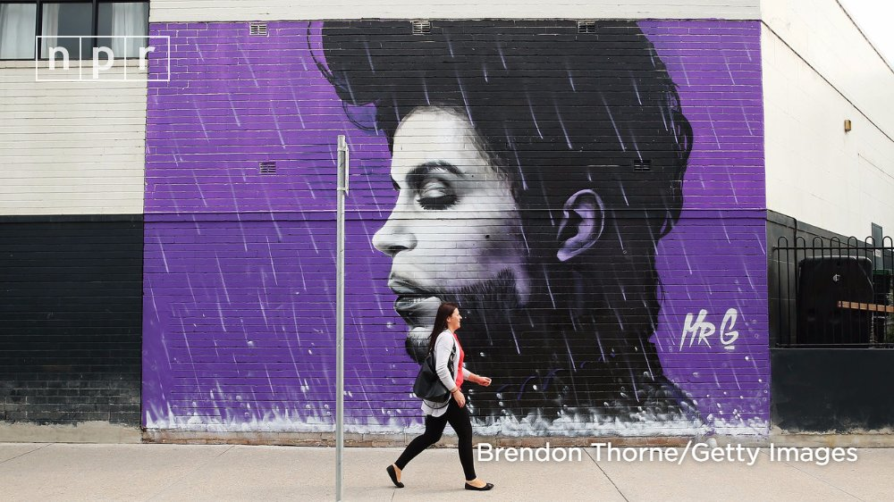 Music icon Prince died one year ago today #RIPPrince https://t.co/p7dc...