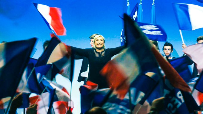 Why has Marine Le Pen gained such favour in France?