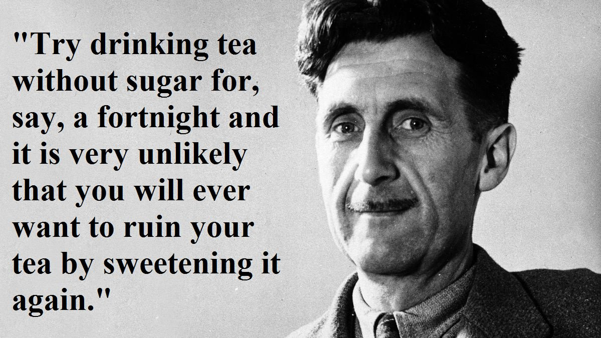 This man gave the only diet advice I've ever though was worth listening to. #nationalteaday