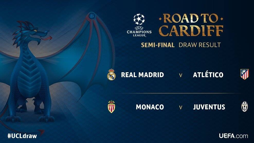 The official result of the Champions League draw! #UCLdraw #uefachampionsleague #uefa <br>http://pic.twitter.com/BWdKGntywg