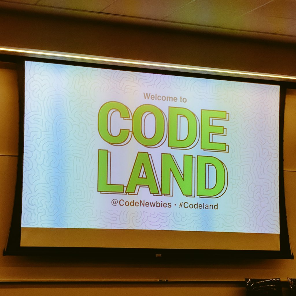 Thumbnail for #CodeLand Conference Part 1