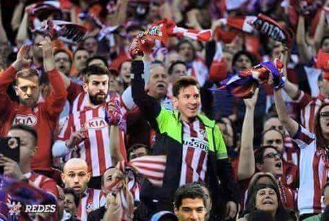 Atletico Madrid supporters are ready for Madrid Derby to support their team!  #UCLdraw <br>http://pic.twitter.com/rzgSvUoP3E