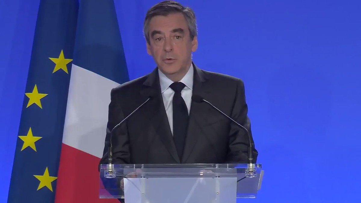 J'entends combattre ce mal qui nous agresse d'une main de fer. Le combat pour la liberté et la sécurité des Français sera le mien.