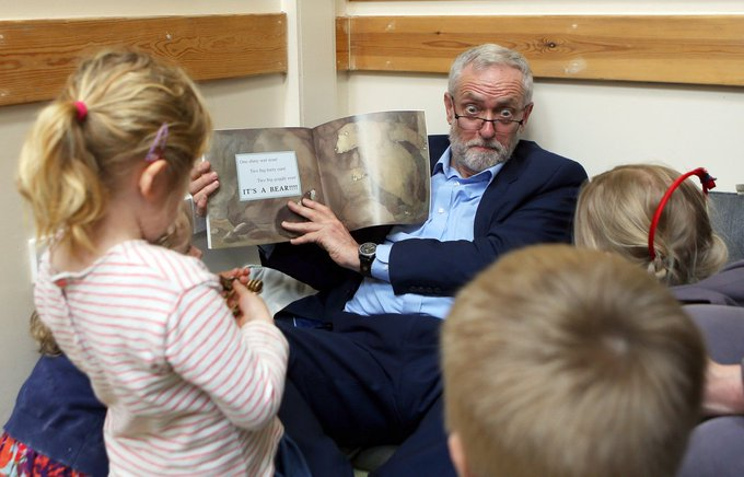 this might be the best picture of Jeremy Corbyn I've ever seen