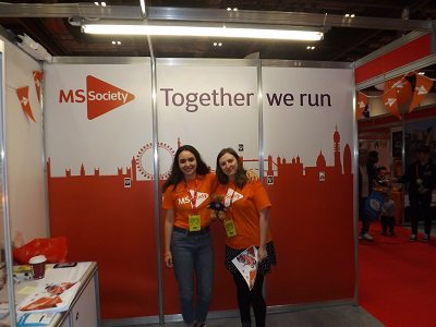 Big wave and shout out to @mssocietyuk !!! #MultipleSclerosis #MS #Expo @LondonMarathon<br>http://pic.twitter.com/67u44IVldj