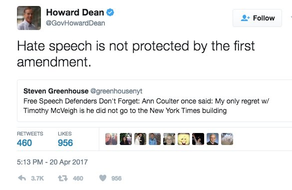Howard Dean's claim is profoundly ignorant and profoundly dangerous, in equal measure https://t.co/WqsEdWUDoL