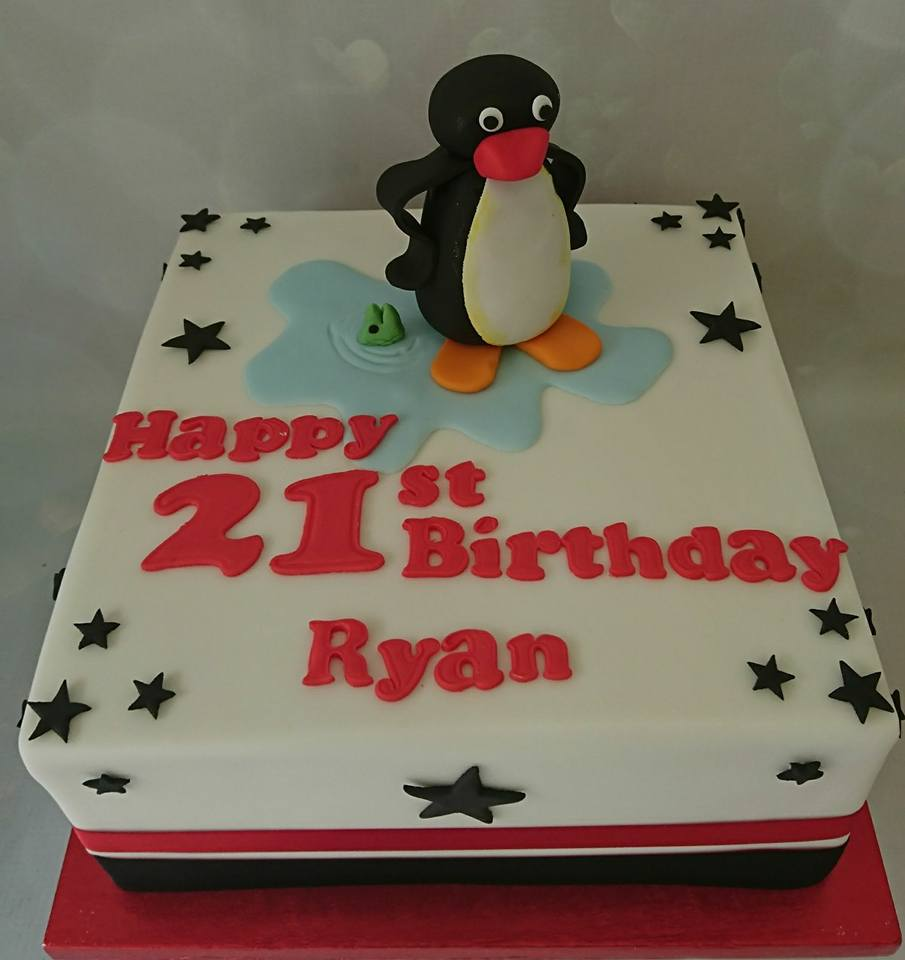 A Cake For You On Twitter Happy 21st Ryan 21st Birthday Pingu