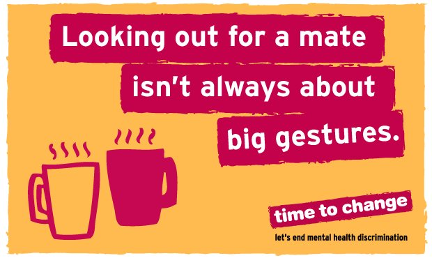 It's #nationalteaday, so have a cup with a friend and check to see how they're really doing.