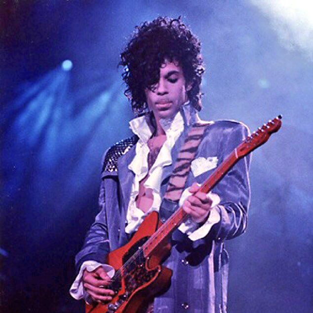One year ago today.  #RIPPrince <br>http://pic.twitter.com/8sRleu39xA