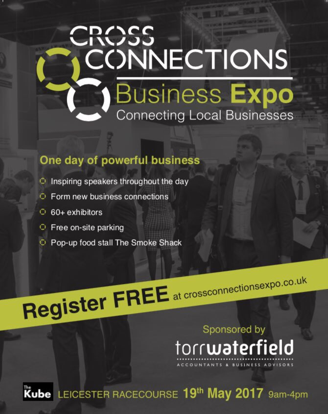 Cross Connections #Business #expo book here FREE now  http:// crossconnectionsexpo.co.uk  &nbsp;   #Network #Growth #Leicester #OnePowerfulDayOfBusiness #GetCross <br>http://pic.twitter.com/kxxYZyIvhM