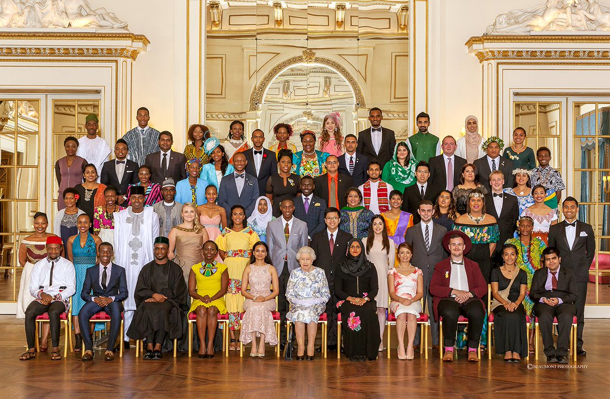 Happy Birthday Your Majesty from all at Queen's Young Leaders. #queensbirthday
