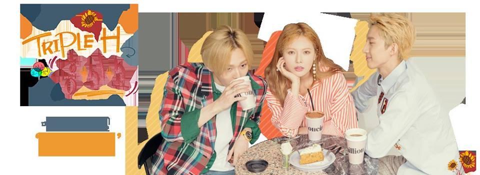 """""""Triple H"""": Hyuna, Hui e E'Dawn trarão conceito retrô anos 90 para mini-álbum de estreia"""
