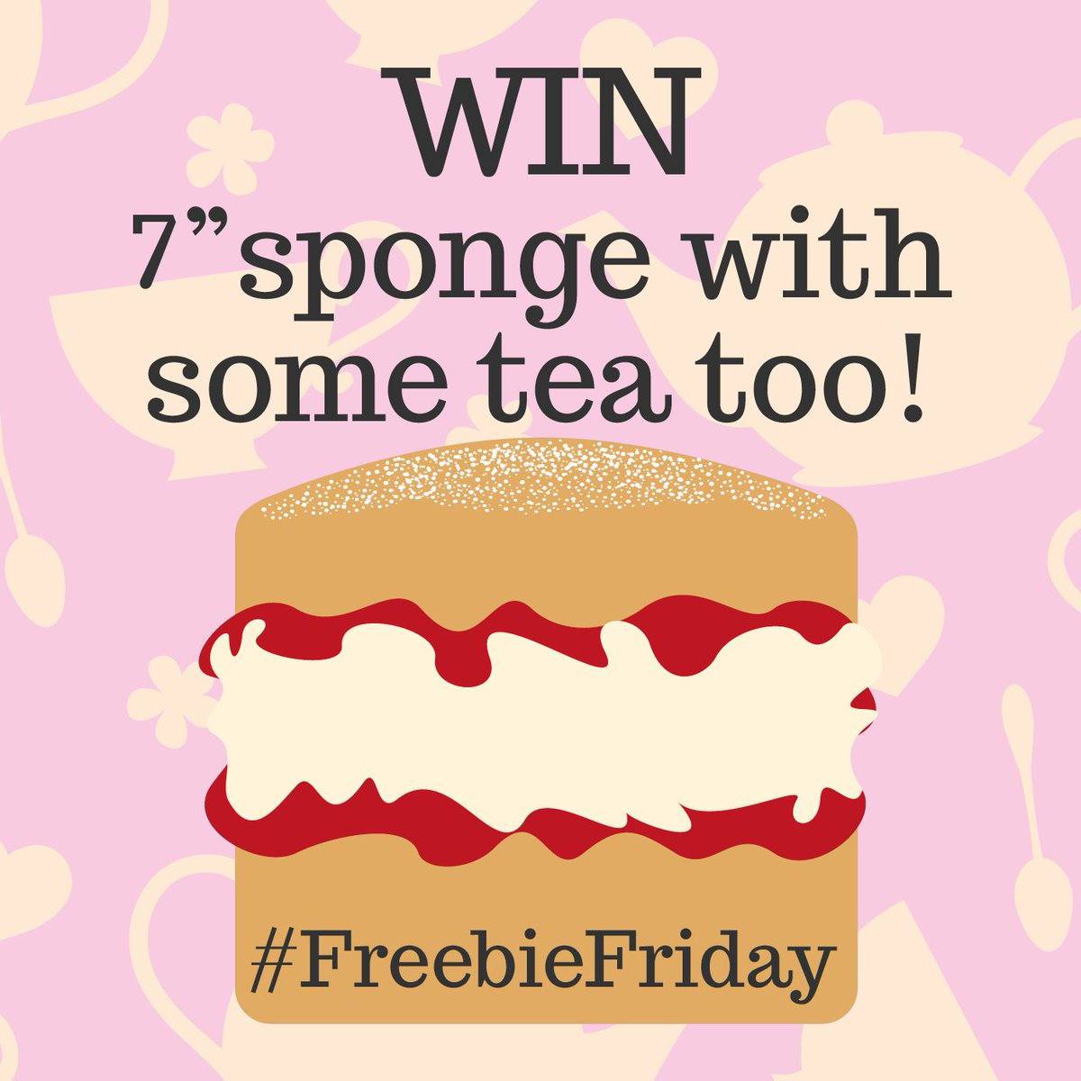 It&#39;s National Tea Day! For a chance to win a Sponge of your choice with a selection of teas simply FLW &amp; RT! #NationalTeaDay #FreebieFriday<br>http://pic.twitter.com/CYDgEhq8hJ