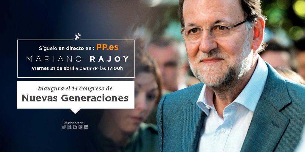 Anuncio de la intervención de Mariano Rajoy