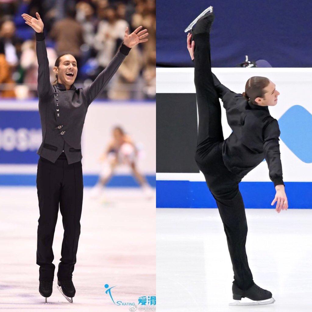 この2つのプログラムは、これでおしまい。とっても悲し〜い!でも、今年のプログラム最後の演技が日本で滑…