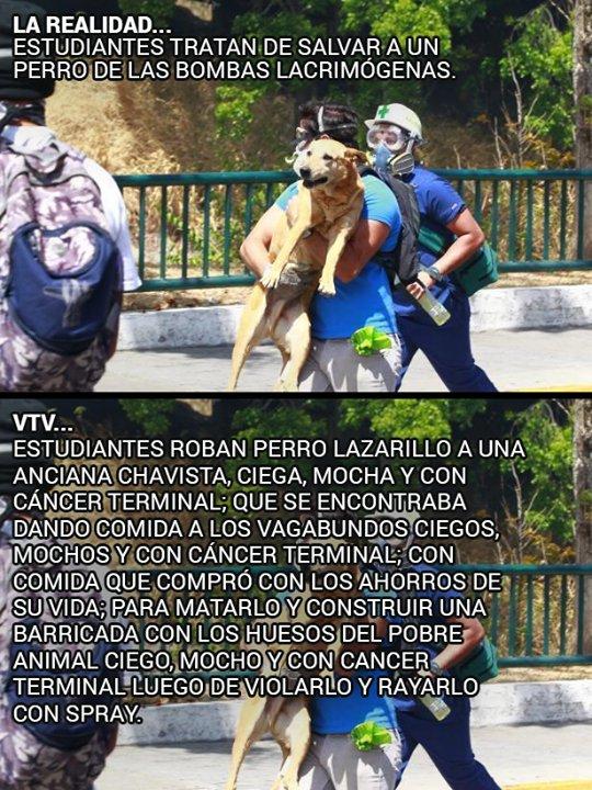 Realidad Vs VTV. #21Abr #RespetoALaInmunidadVzla https://t.co/wCuN6h7J...