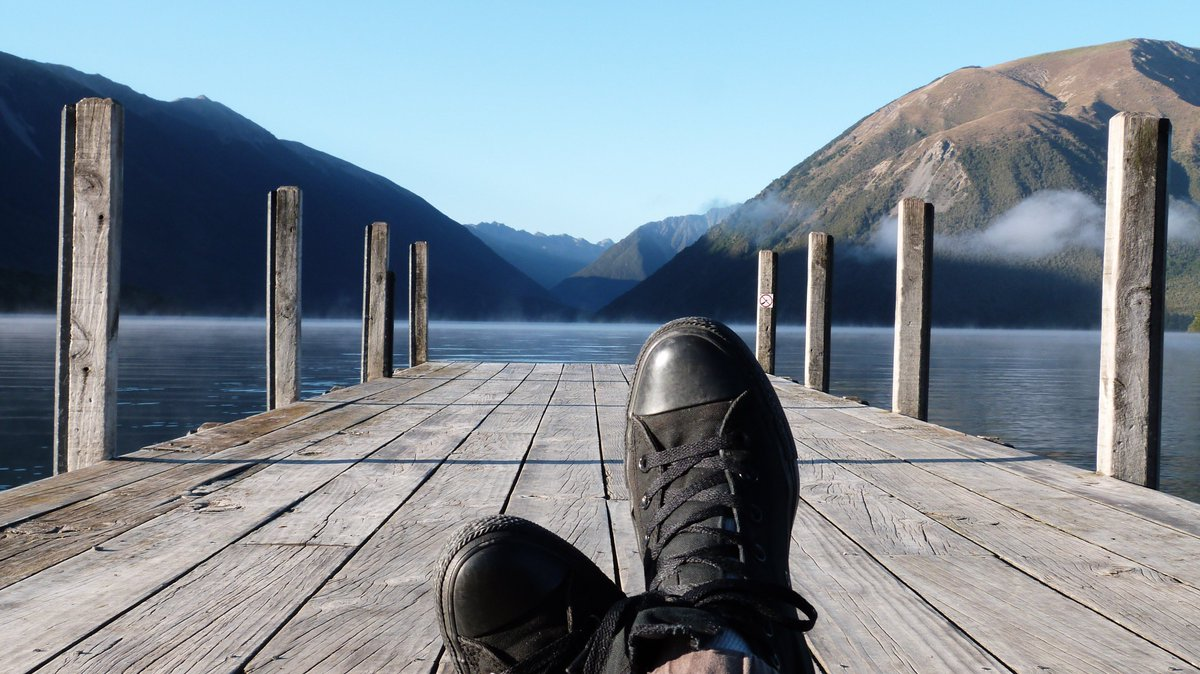 View from Nelson Lakes, #NewZealand #Travelling #BellesChoses au pays des All Blacks <br>http://pic.twitter.com/0YIJXt4U7p