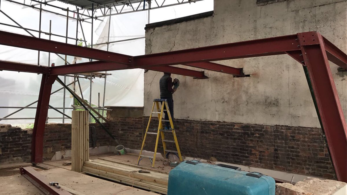 Rapid Steel Uk On Twitter Quot Crank Roof Frame For Job In
